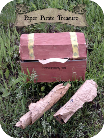 Have a fun-filled day hunting for Paper Pirate Treasure!