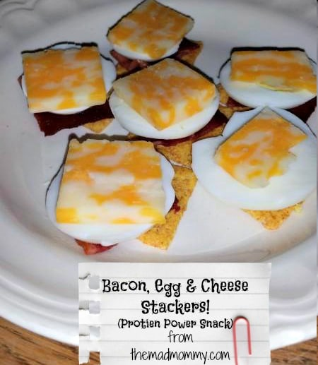 Bacon, Egg & Cheese Stackers