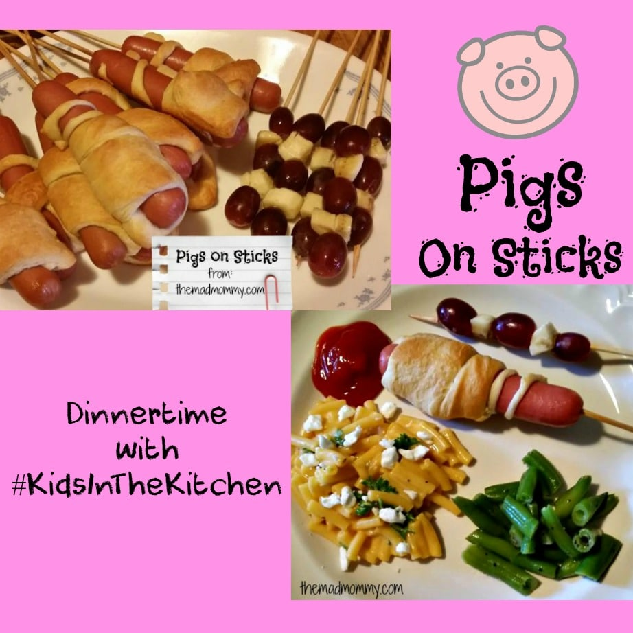 It's Dinnertime with Kids In The Kitchen!