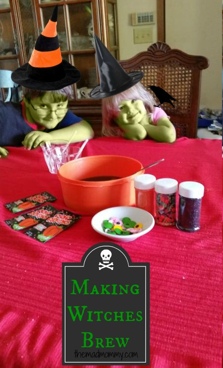 Double, Bubble, Toil and Trouble! Make a spooky, yet taste cauldron of Witches Brew this Halloween!