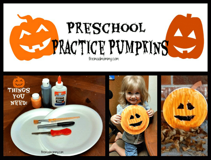 Have your preschooler practice their fine motor skills and get ready for pumpkin carving this Halloween with these Preschool Practice Pumpkins!