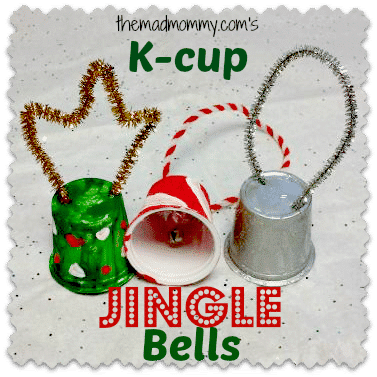 If you are anything like me, you probably have a ton of k-cups around! Here is a cute Holiday craft that you can use them for!
