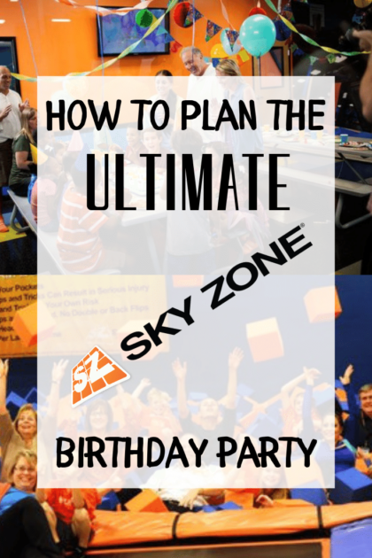 How to Plan the Ultimate Sky Zone Birthday Party