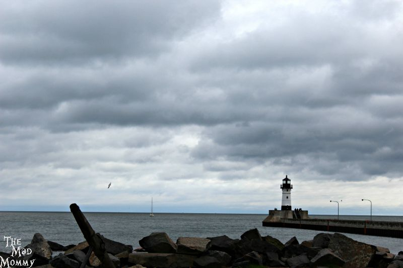 Lake Superior at Canal Park in Duluth!