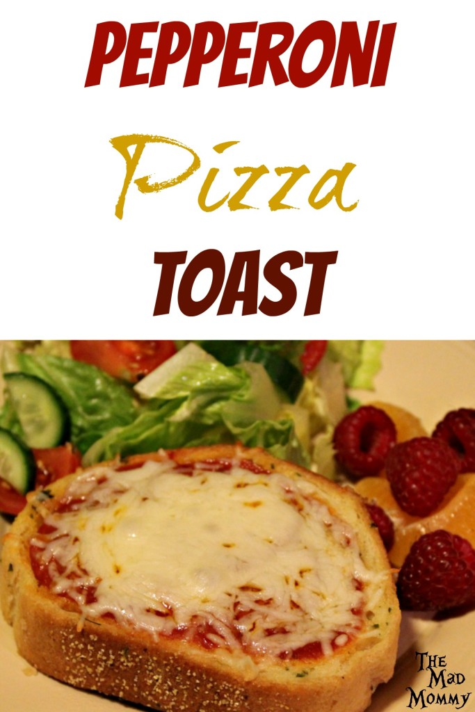 It's super easy, super quick and great any day of the week! Check out this Pepperoni Pizza Toast!