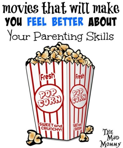 Sometimes, we need a reminder that we aren't so bad at this parenting thing. Here are some bad movie parents that can provide that reminder!