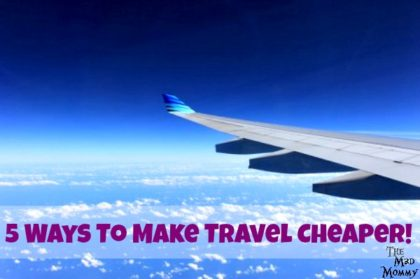 """These are the 5 things that have made it possible for me to travel cheaper. That's right! I was able to get my bank account to say, """"YES!"""" by using these tips!"""