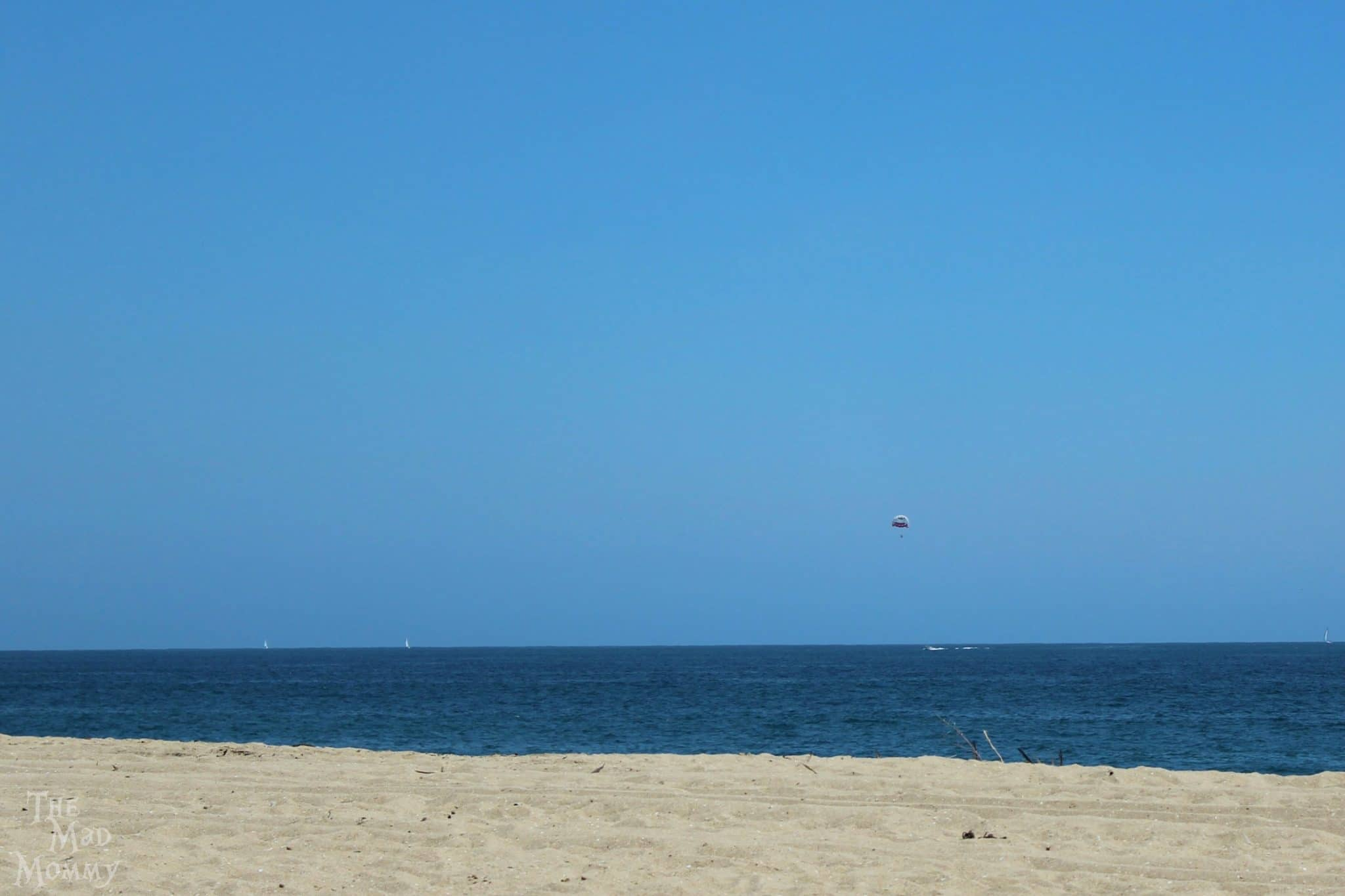 My first sight of the Pacific ocean in Newport Beach, California.