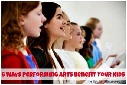 You may not have thought of them before, but there are some great benefits of participation in the performing arts.