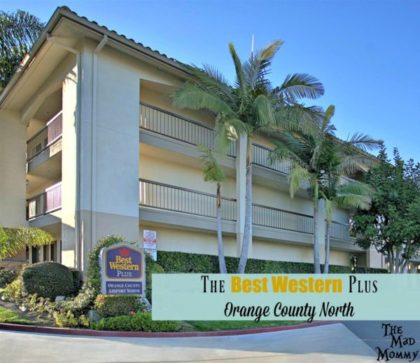 Our stay at the centrally located Best Western Plus Orange County North in Santa Ana, California.