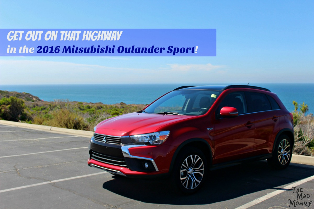 Get out on that highway and find your own adventure in the 2016 Mitsubishi Outlander Sport! #driveMitsubishi #DriveShop