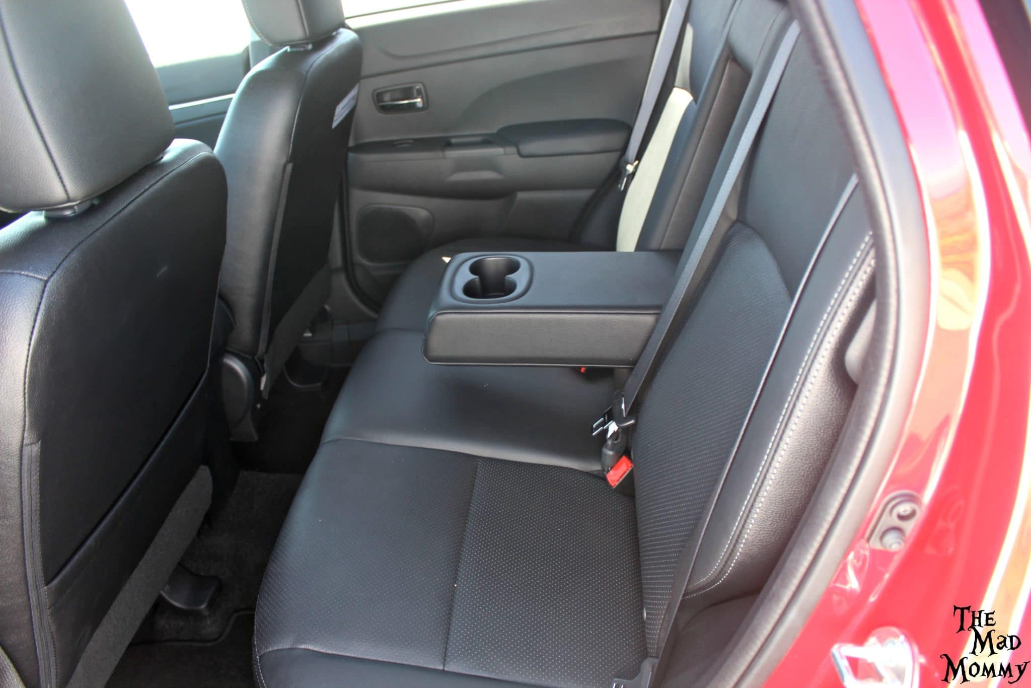 The comfortable, luxurious and spacious interior of the 2016 Mitsubishi Outlander Sport.