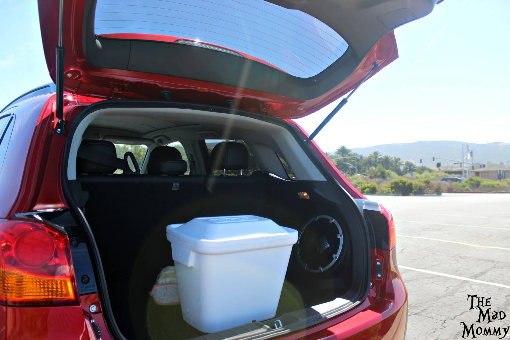 Ample rear cargo space and fold down rear seats in the 2016 Mitsubishi Outlander Sport. #driveMitsubishi #DriveShop