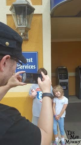 When you arrive at the amusement park, take a picture of your child/children with your cellphone, so you will have a current and accurate photo of exactly how they look and what they are wearing that day.