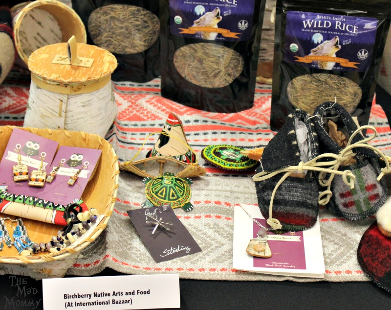 White Earth tribe inspired items that are made and sold at the Minnesota State Fair!