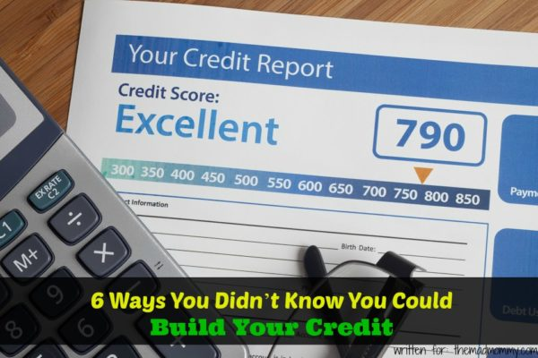 how to build your credit rating
