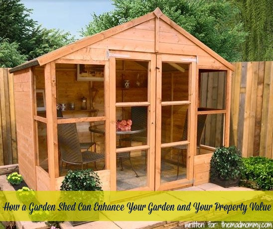 How a garden shed can enhance your garden and your for Garden shed jokes