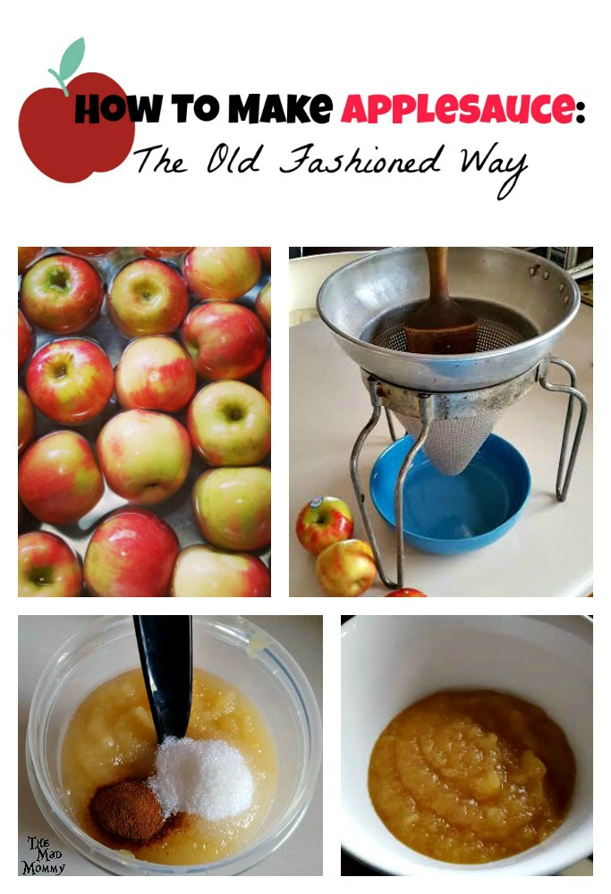 Making applesauce every fall is a family tradition! Here is how to make applesauce, the old fashioned way!