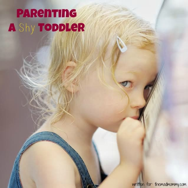 Parenting A Shy Toddler: There is also a large difference between a clingy child and a shy child, as shyness will not go away.