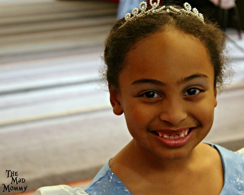 All smiles for the Pretty Princess Parties Fairytale Ball.