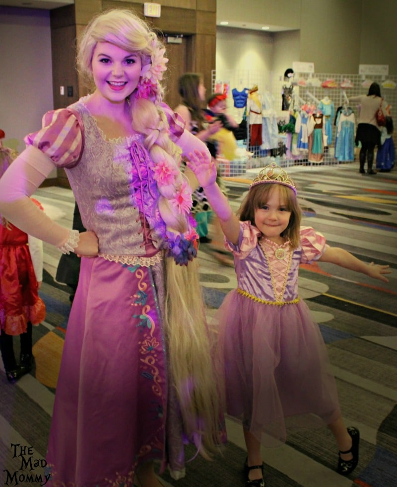 I'm seeing double at the Pretty Princess Parties Fairytale ball!