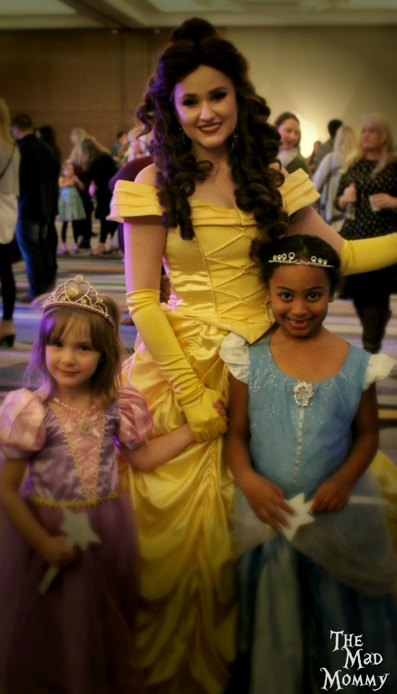 Very pretty princesses at the Fairytale Ball.