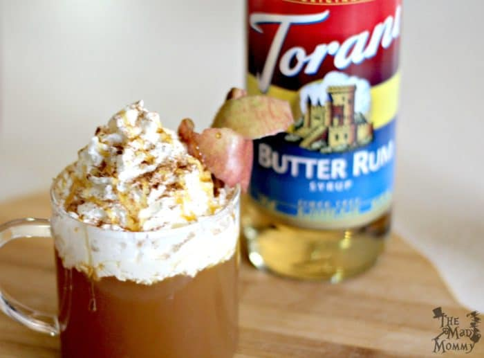 Warm yourself up w/ a Butter Rum #AppleCider or SPIKE it and enjoy a Butter Rum Hotty Toddy!