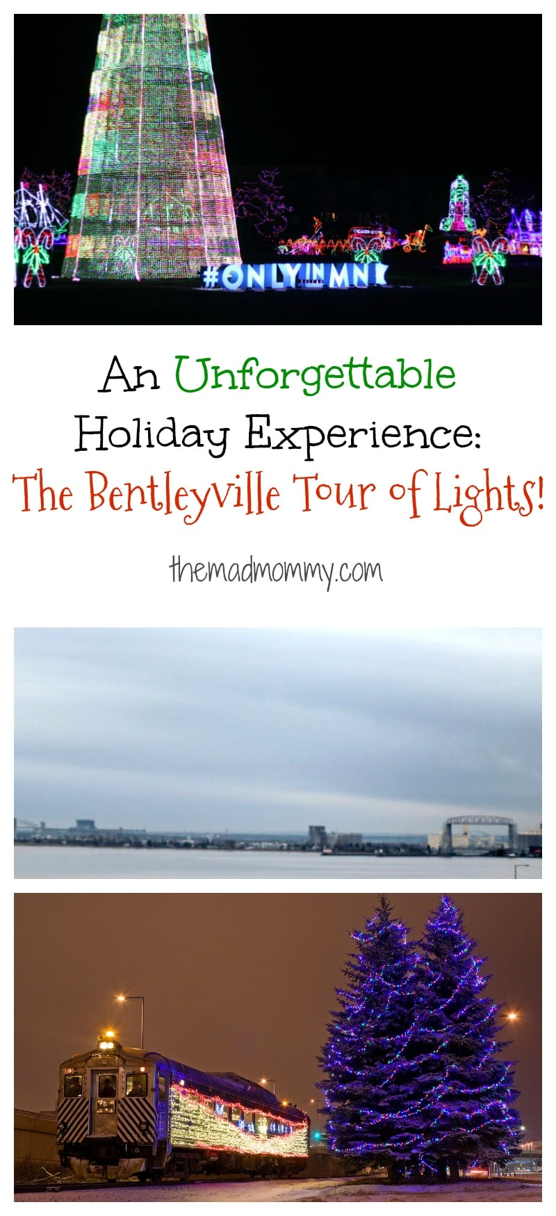 We had the most unforgettable holiday experience, thanks to the #EdgewaterDuluth and the Bentleyville Tour of Lights! #Hosted #OnlyinMN