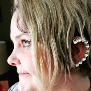 Give her a little sparkle and shine with affordable, but beautiful, jewelry, like this stunning Ear Cuff, from 7 Charming Sisters!