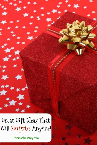 Do you have a lot of people to shop for? Do you have that one person who is impossible to shop for? I know I do and thanks to my years of blogging, I have come up with a list of great gift ideas that will surprise anyone!