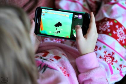 "The nostalgia of Christmas and the ""newness"" of things will soon wear off and once again, your kids will be bored! Keep them busy with the Puzzingo app for kids! It makes learning fun and keeps them educationally entertained for hours!"