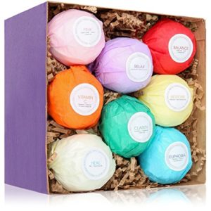 Give her a reason to take a nice long bath with a set of these USA Made Vegan Bath Bombs!