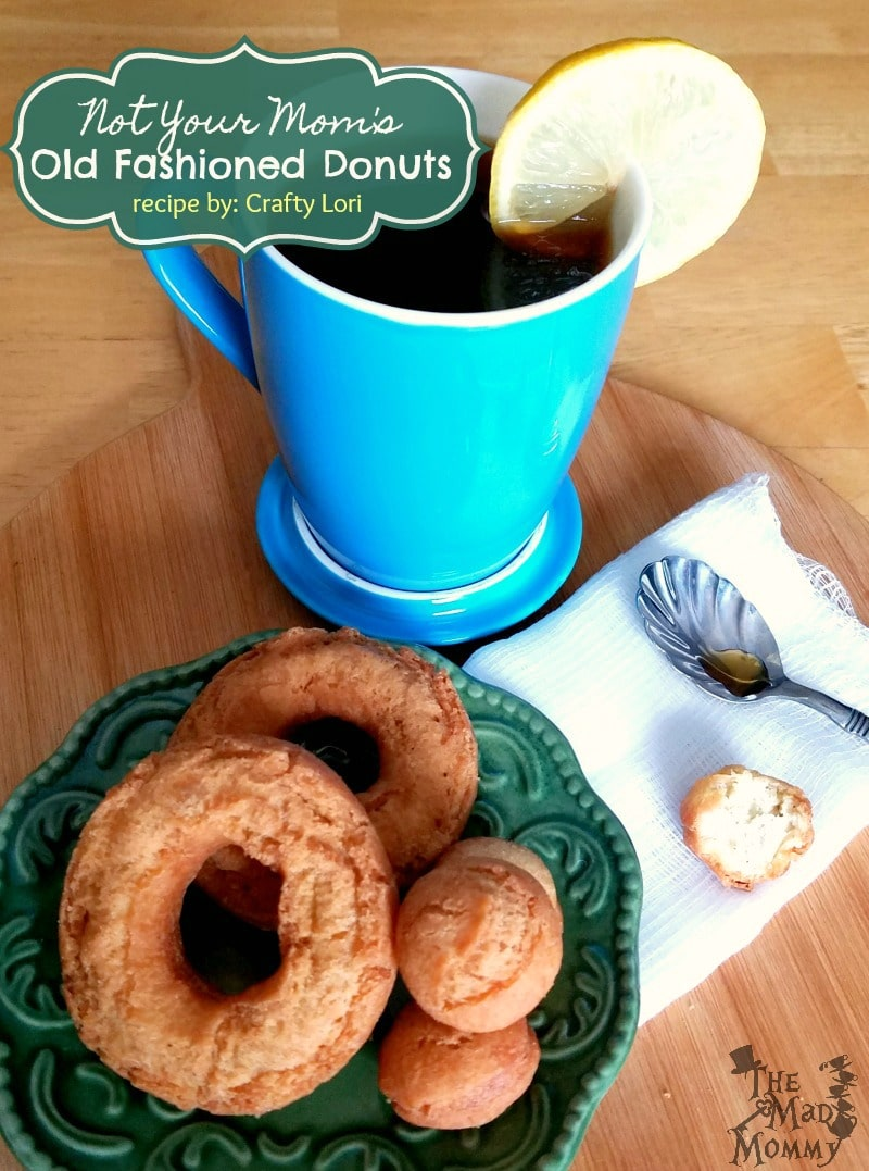This old fashioned donut recipe is perfect for dunking into coffee, tea or even, chocolate milk! The twist that makes these Not Your Mom's? They are made with one, super modern ingredient! Come check it out!