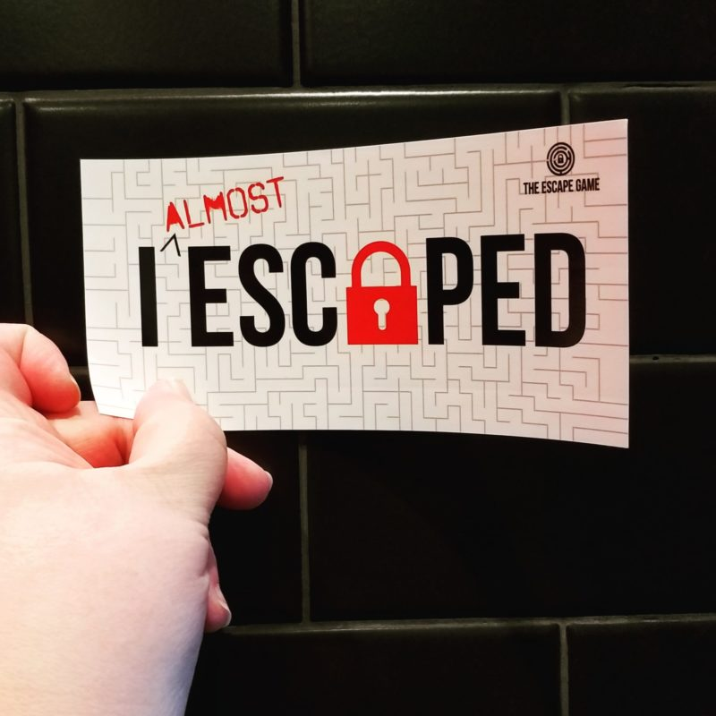The Escape game is one of the newest attractions at the Mall of America. It features 4 unique and stunningly put together rooms and scenarios for you and your group to escape from. These include: Gold Rush, The Heist, Mission to Mars and Prison Break!