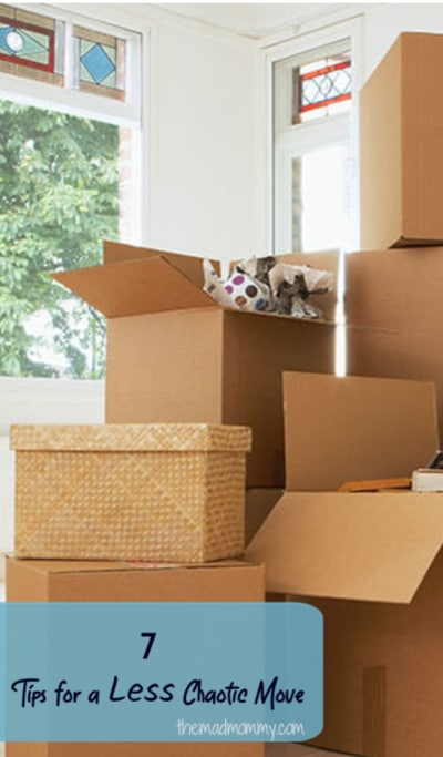 No matter if you have months until your move or if you're in the thick of it right now, check out these seven tips to make your move easier and less stressful.