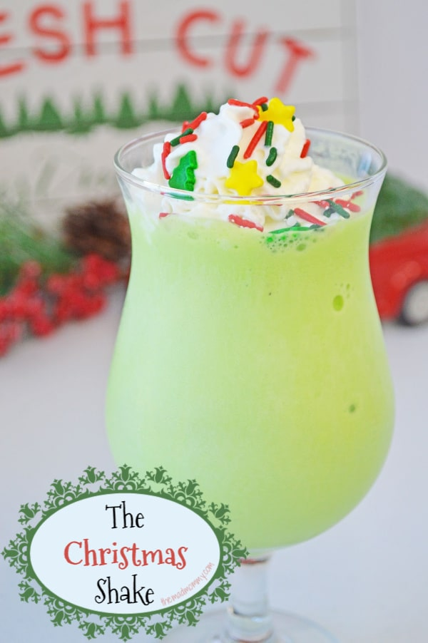 Everyone deserves a special drink on the holidays, am I right? We have our delicious cocktails, so why shouldn't the kids have an AMAZING Christmas Shake?