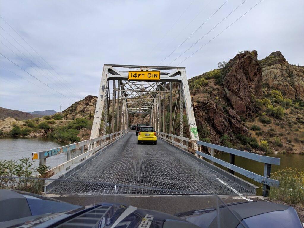 one lane bridge canyon lake