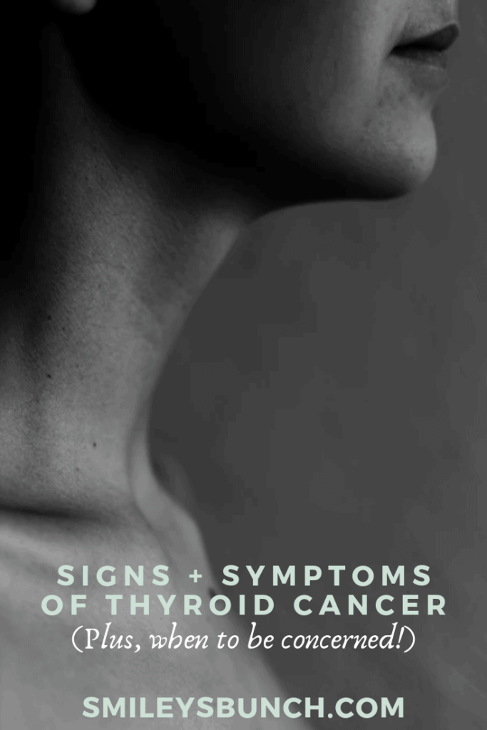 symptoms of thyroid cancer