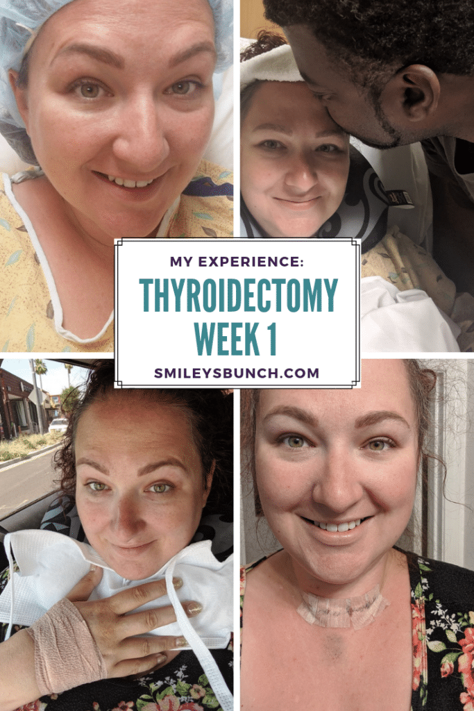 thyroidectomy week 1