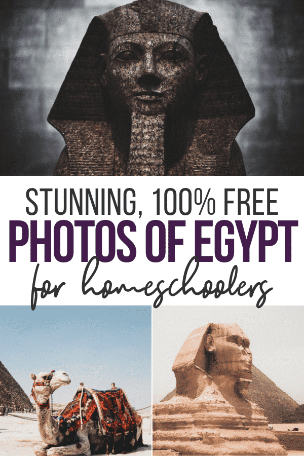 free photos of egypt for homeschoolers