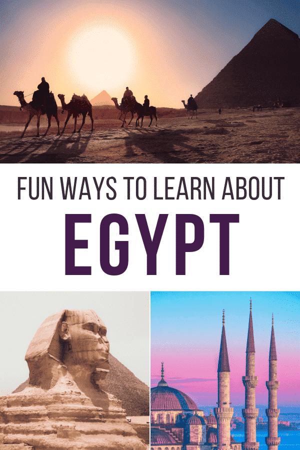 fun ways to teach kids about egypt