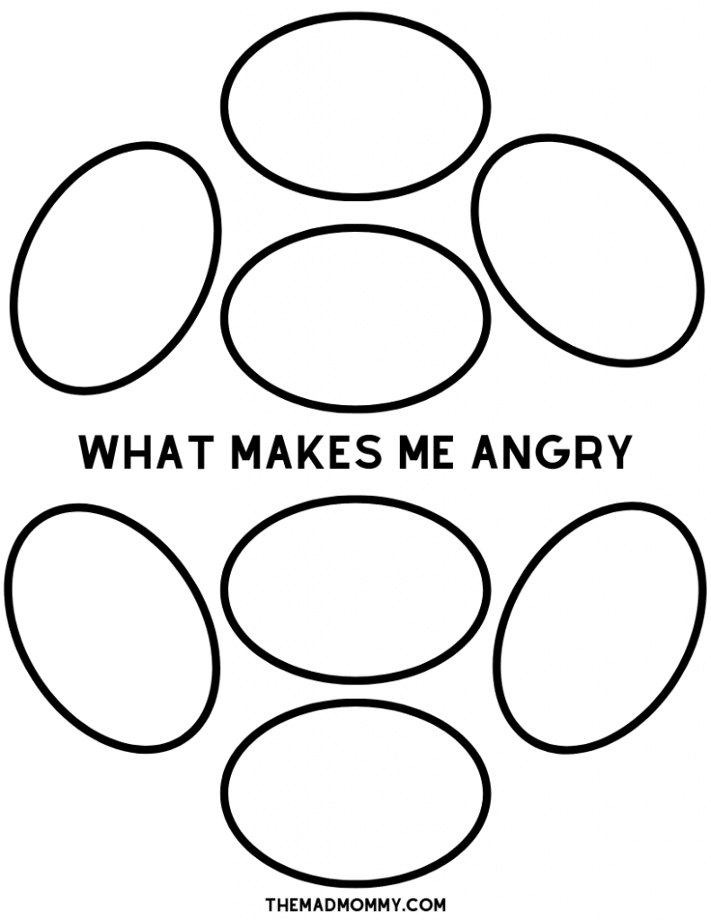 anger triggers for kids