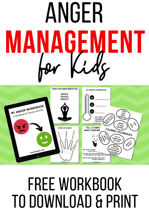 anger management tips for kids
