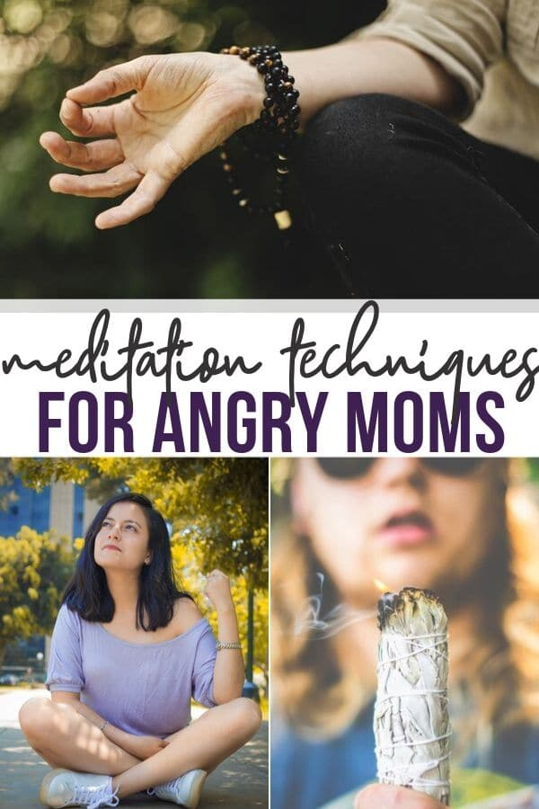 quick meditation techniques for angry moms