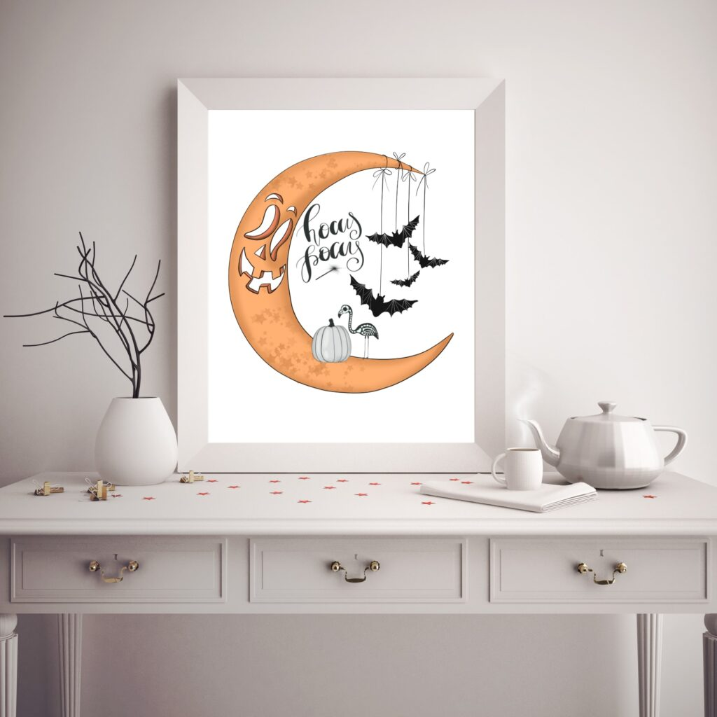 halloween free prints