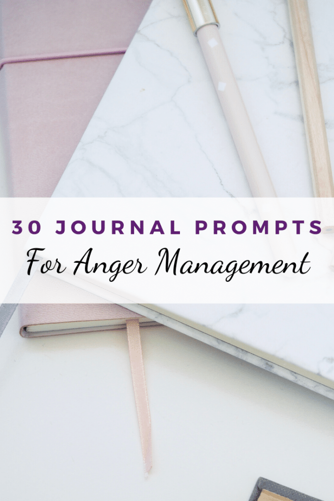 journal prompts anger management