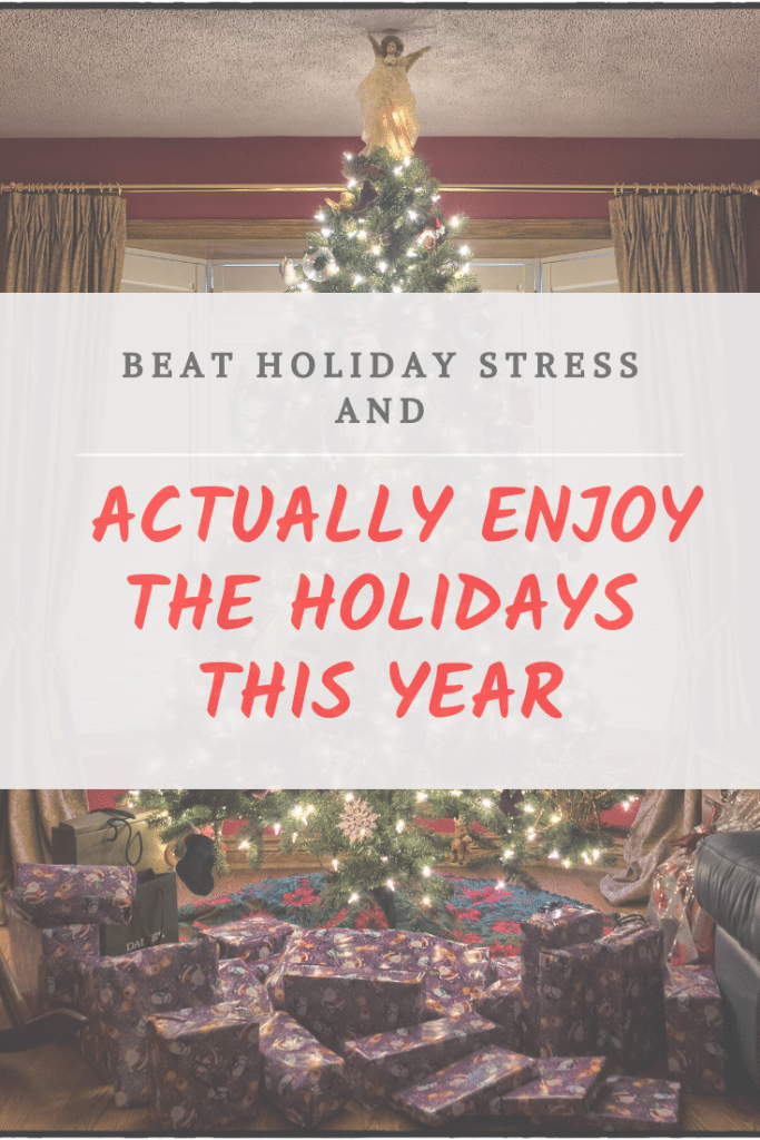 beat holiday stress