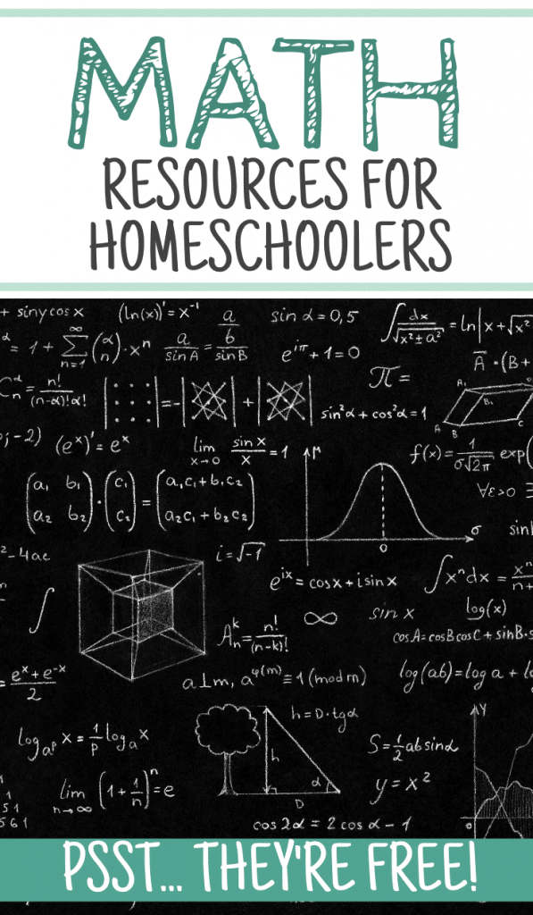 free math resources for homeschoolers