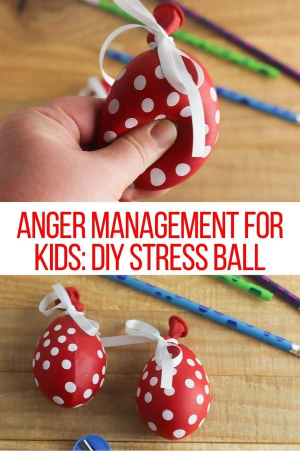 stress ball made out of a balloon