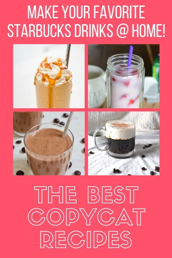 starbucks copycat drinks